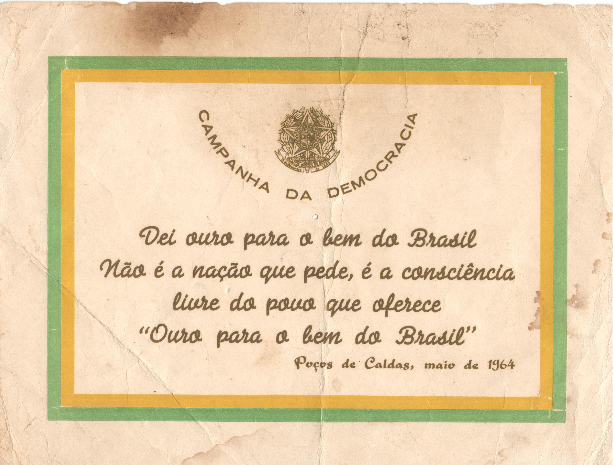 A DITADURA EM PORTO FERREIRA - II PARTE