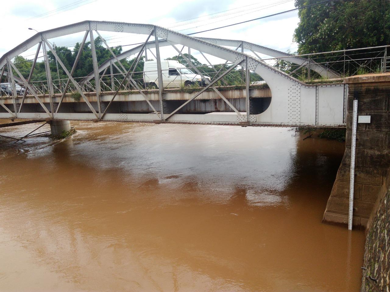 Ponte Metálica Rio Mogi Guaçu
