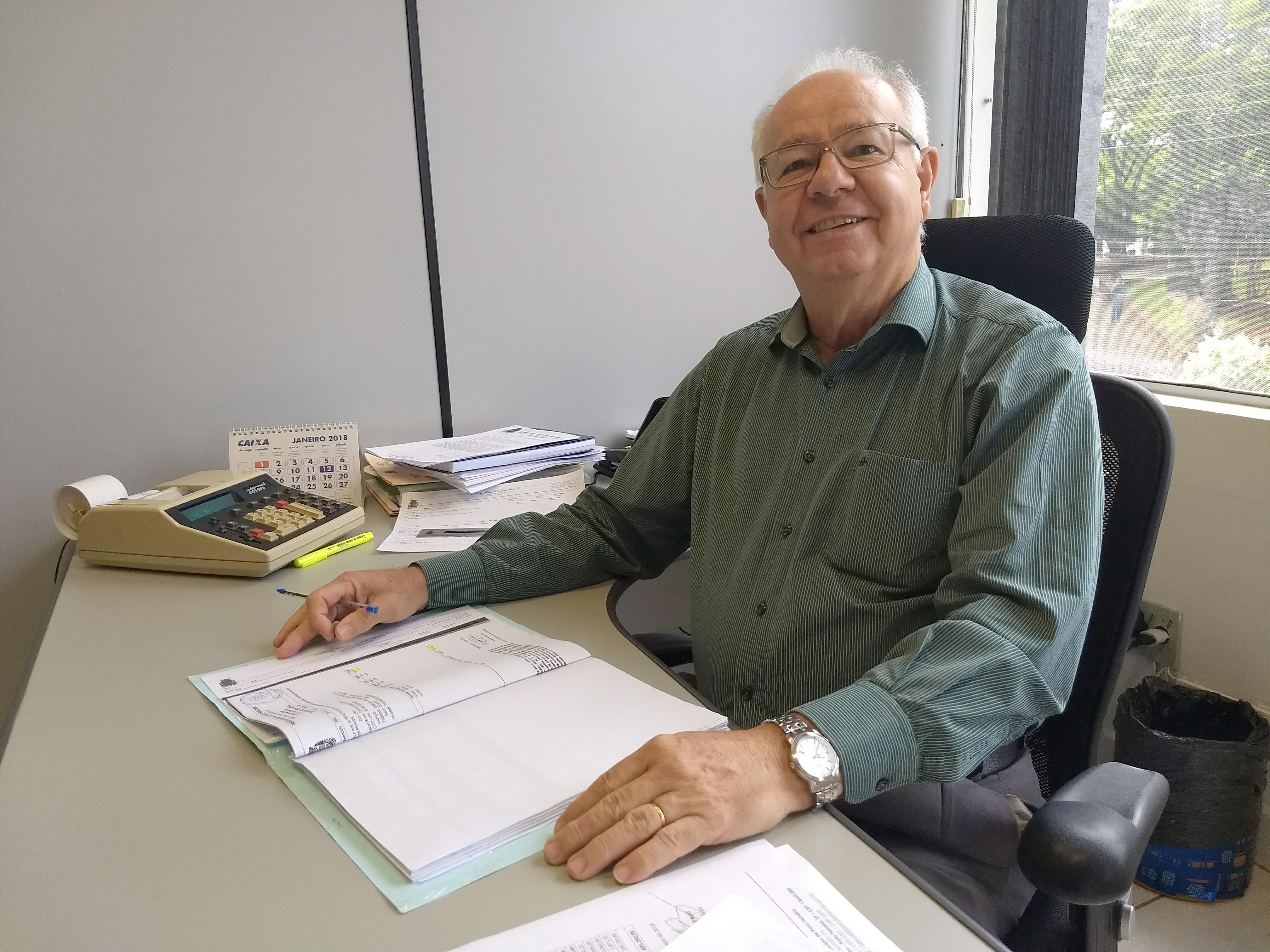 Professor José Carlos Ruiz, secretário de Fazenda