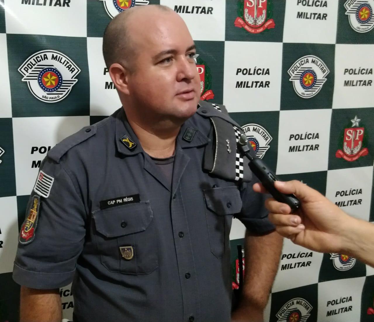 Capitão PM Leonardo Régis Ramos