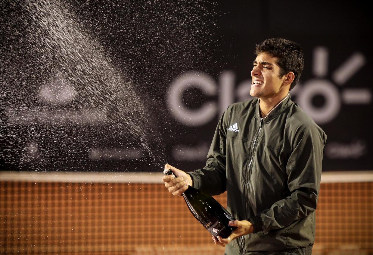 Cristian Garin conquista Rio Open; Granollers e Zeballos vencem nas duplas