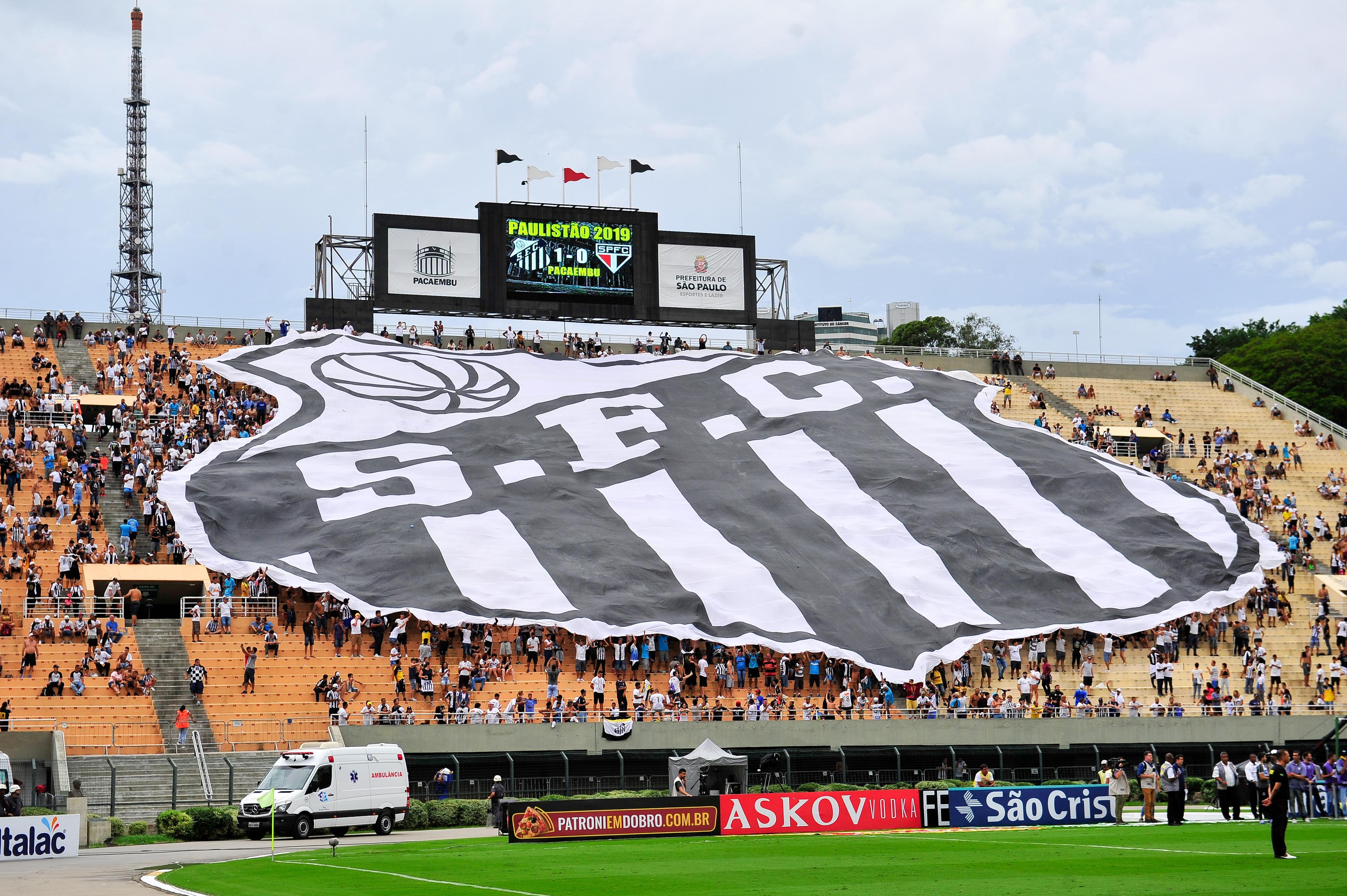 Santos faz vídeo para chamar a torcida e lotar Pacaembu contra Palmeiras
