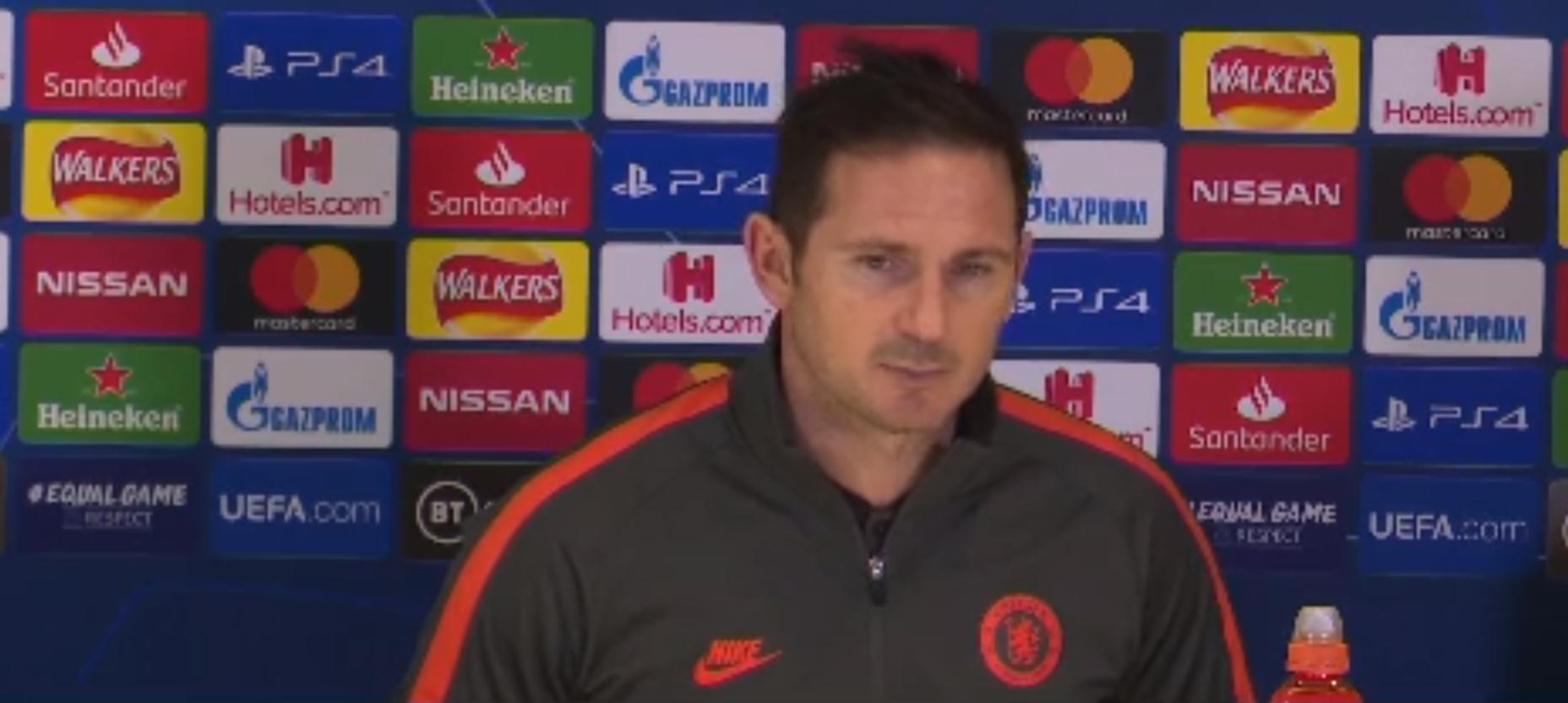 Lampard chama derrota para o Bayern de