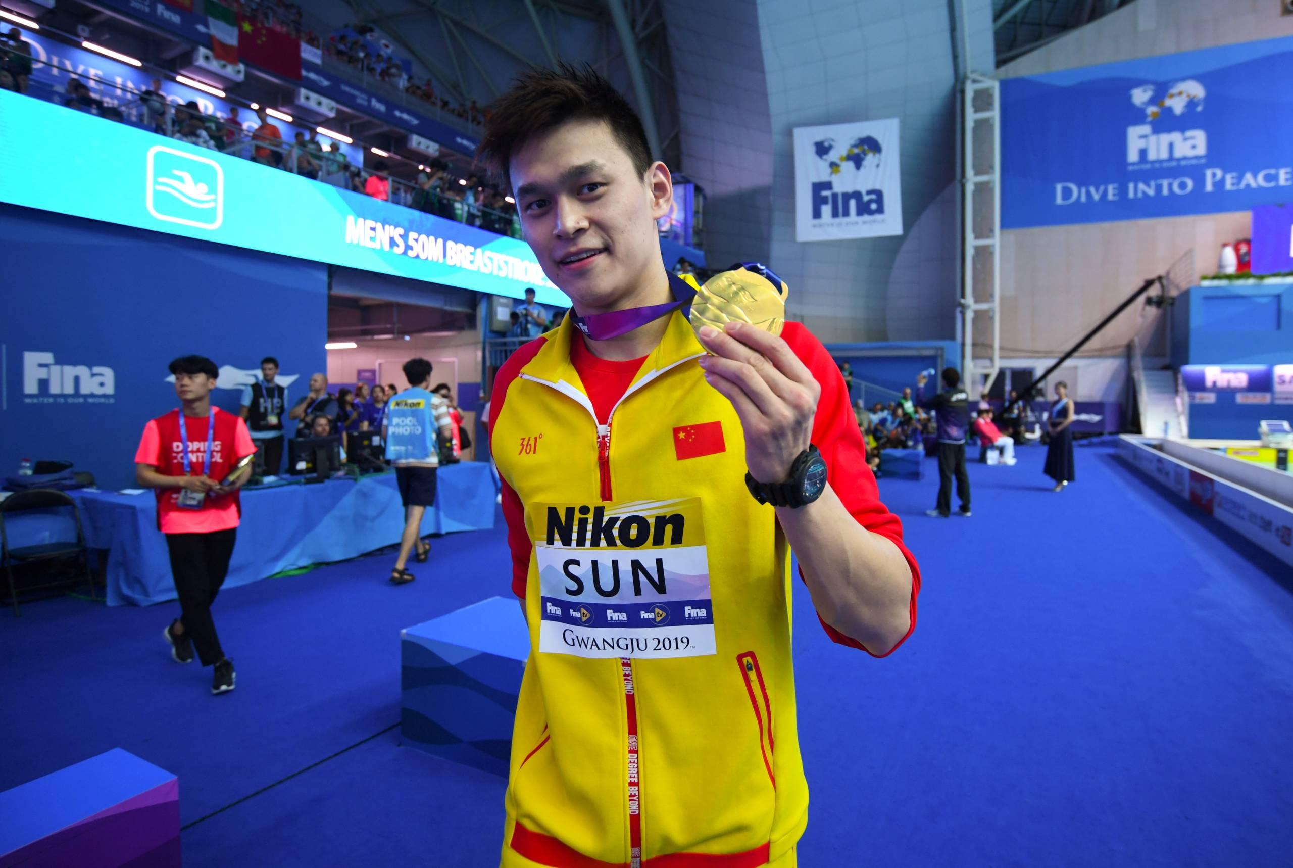 Tricampeão olímpico de natação é suspenso por oito anos pela WADA