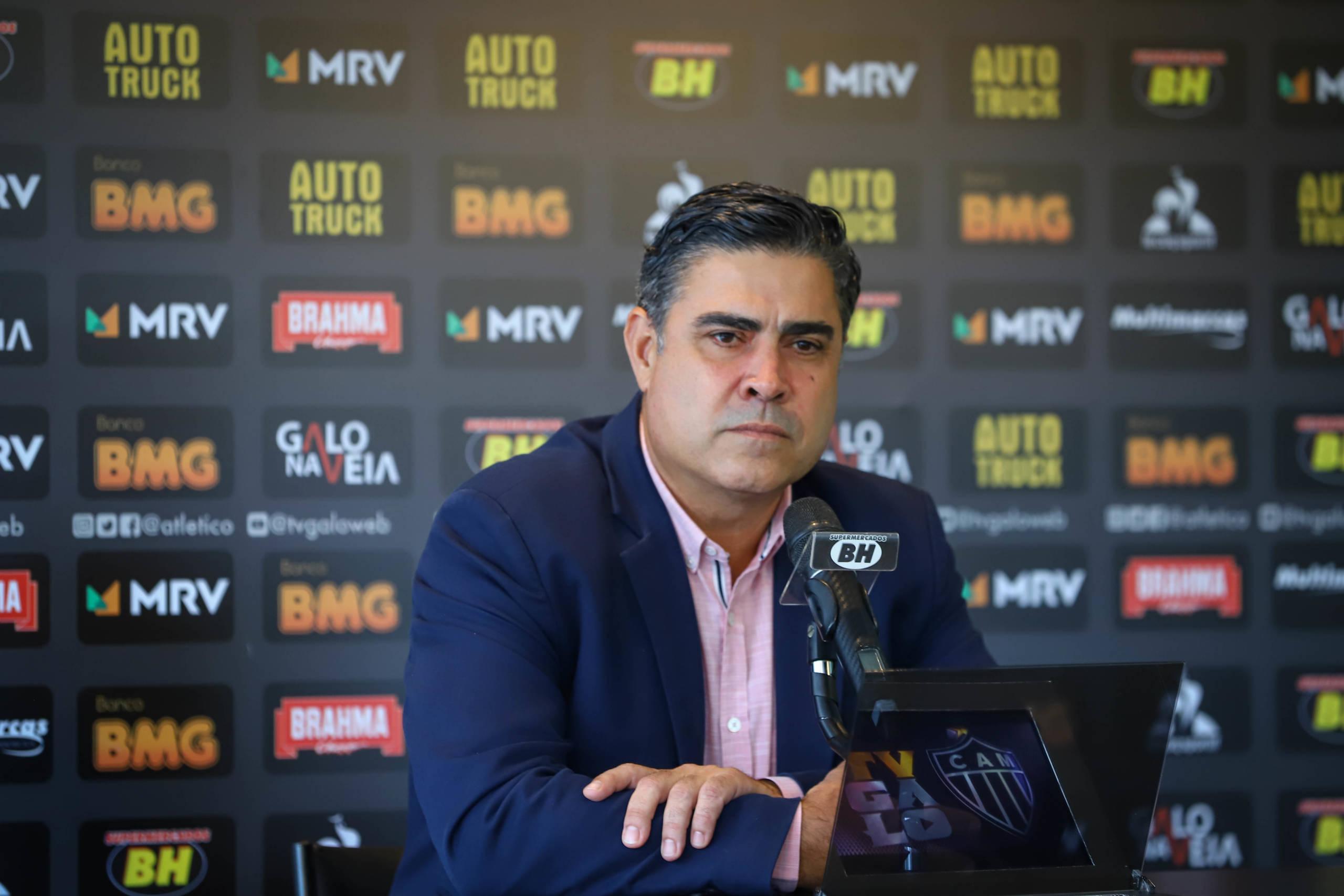 Sette Câmara pede desculpas e afirma que Atlético não vai