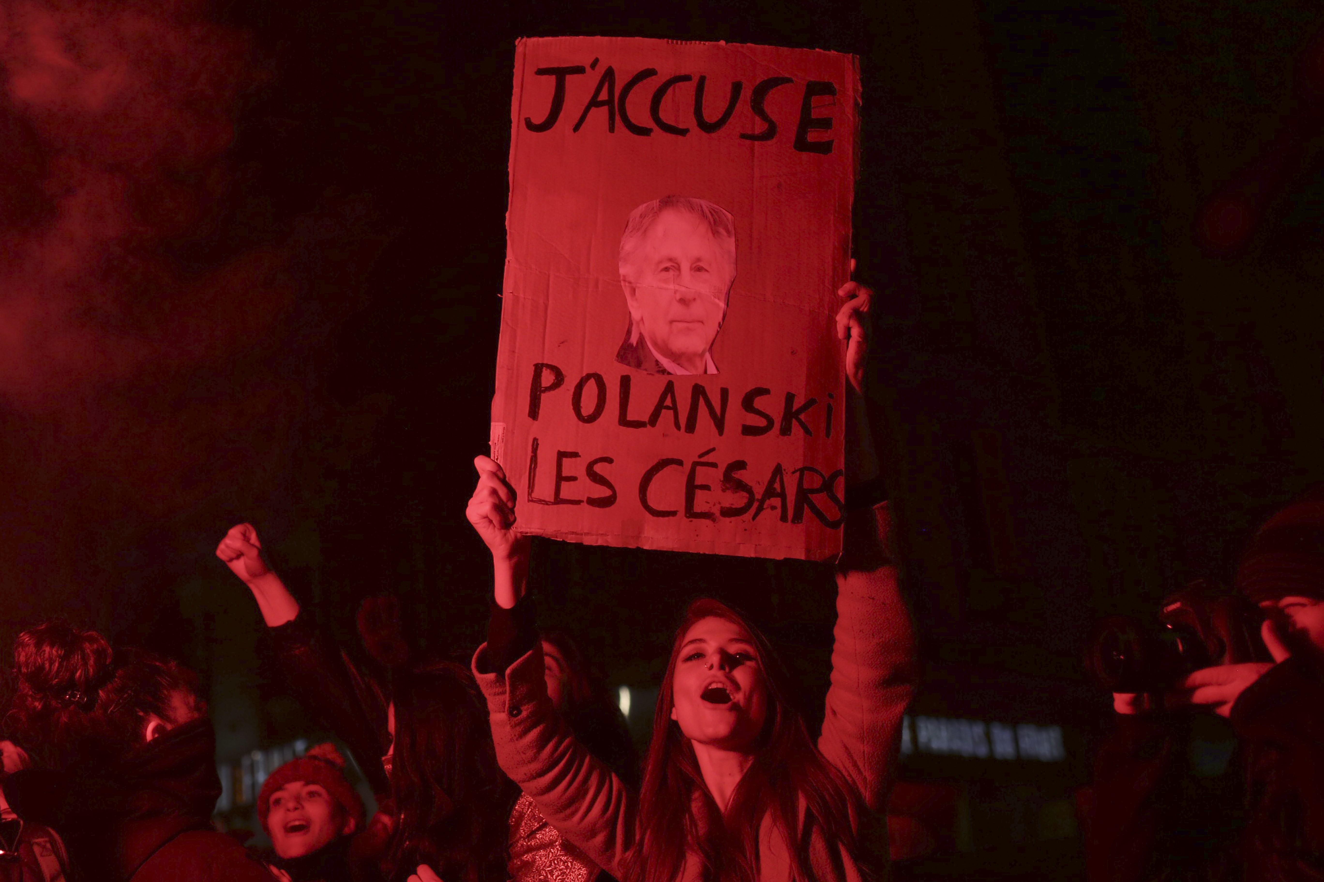 Manifestação anti-Polanski provoca tensão antes da cerimônia do César em Paris