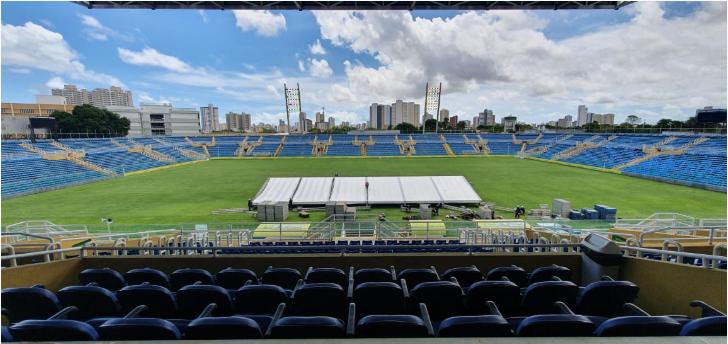 Estádio do Ceará será um hospital provisório para atender pessoas com covid-19