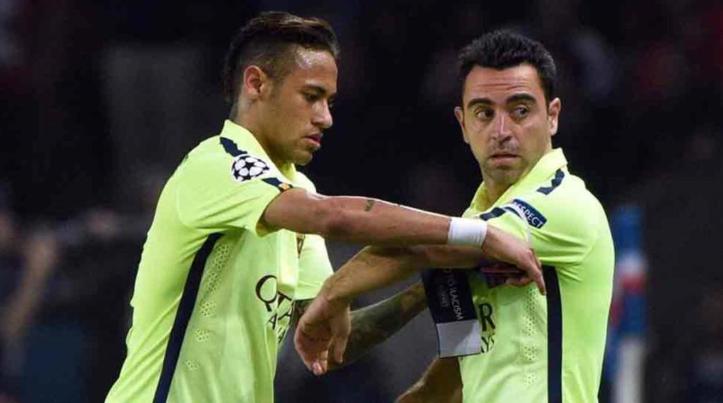 Com Neymar no seu time dos sonhos, Xavi quer voltar ao Barça para replanejar clube