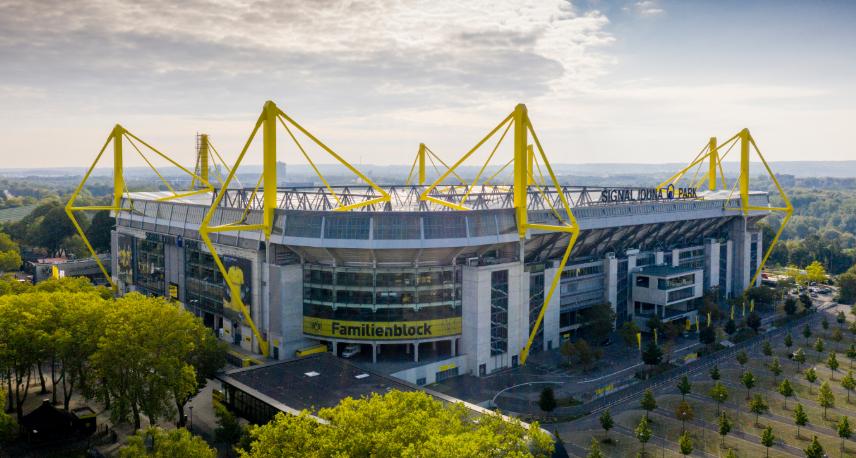 Estádio do Borussia Dortmund será um hospital provisório na luta contra o coronavírus