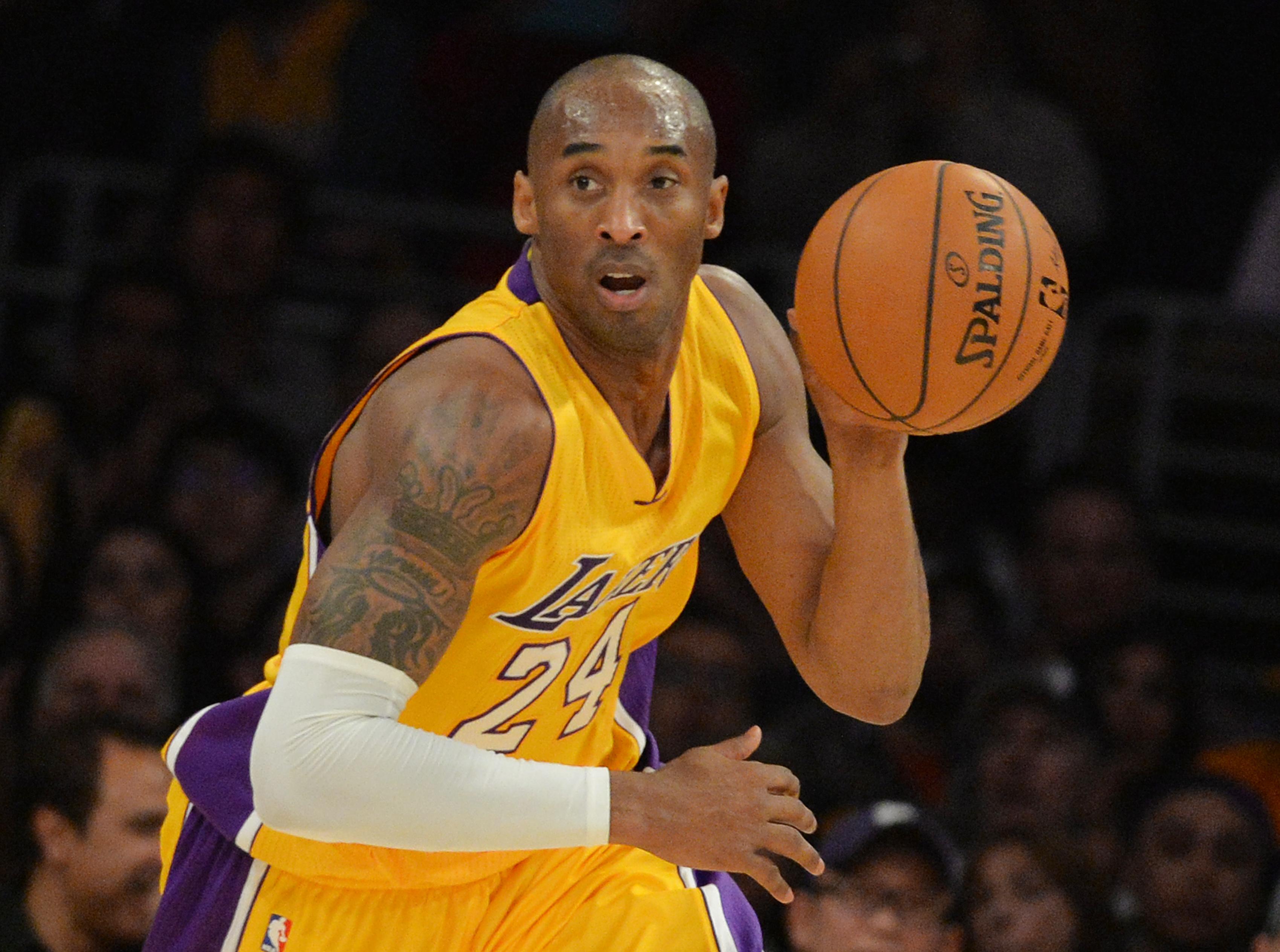 Kobe Bryant é selecionado para o Salão da Fama do basquete