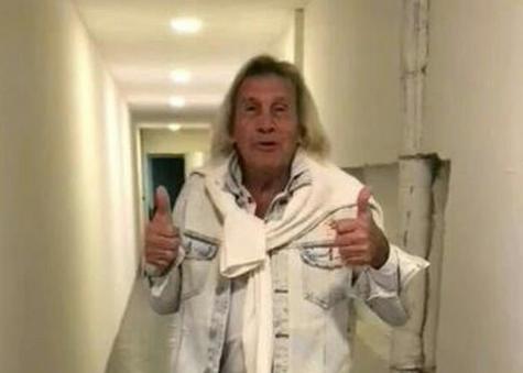 Ex-goleiro argentino Gatti deixa hospital após se recuperar da covid-19
