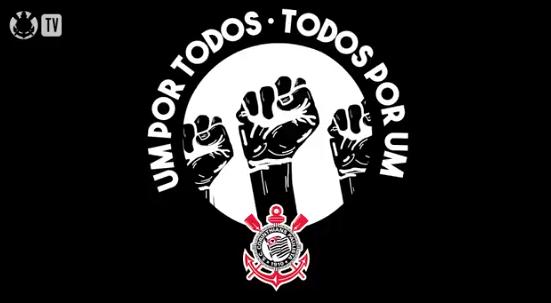 Corinthians posta vídeo se posicionando contra o racismo