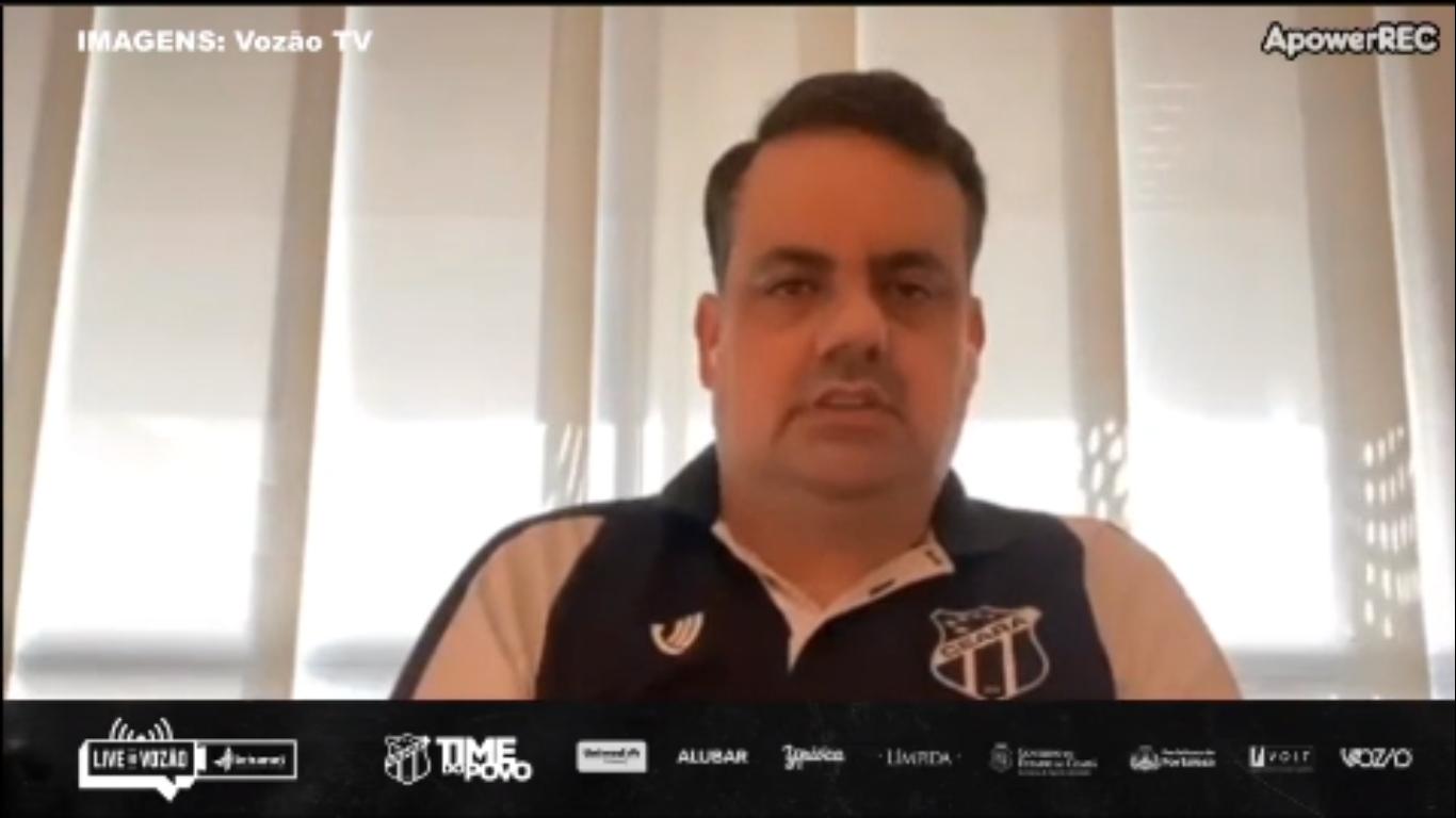 Jorge Macedo explica os protocolos tomados para a volta aos treinos