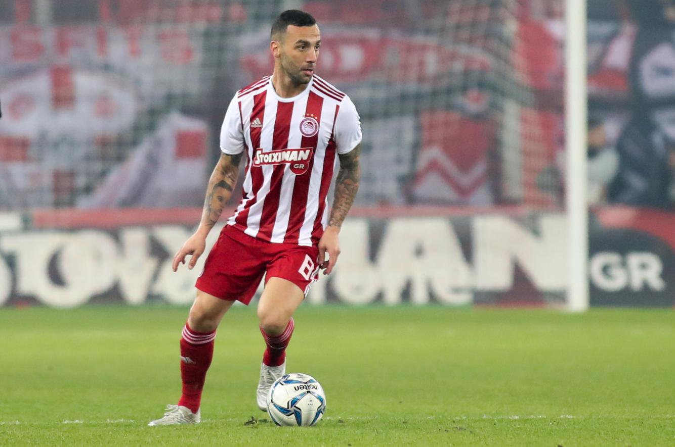 Guilherme espera mesma intensidade do Olympiakos na volta do futebol