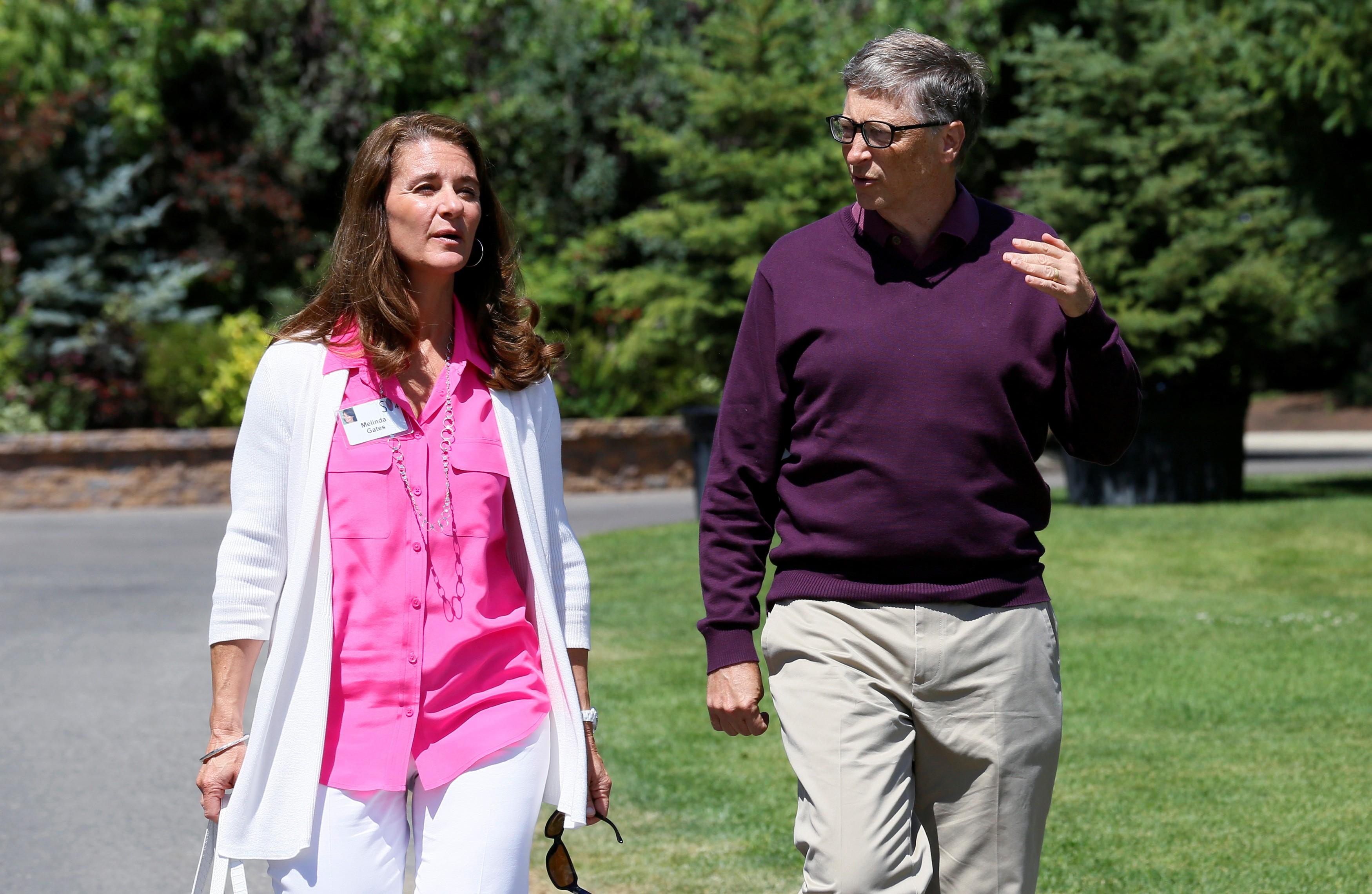 Bill Gates e Melinda French oficializam o divórcio